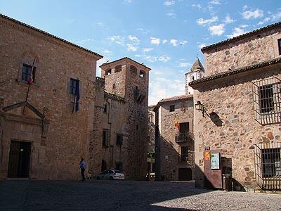 Una foto de Cáceres que no está en la selección para Cromavista